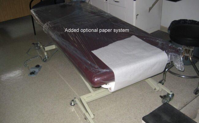 Optional paper holder